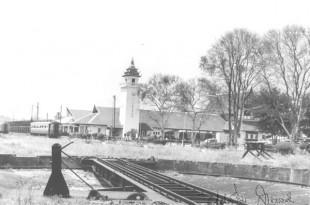 สถานีรถไฟเชียงใหม่ : น้ำท่วมเชียงใหม่ เมื่อพ.ศ. 2495