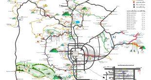 แผนที่เที่ยวเชียงใหม่ จากตัวเมืองไปเส้นทางต่างๆ รอบเมือง